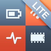 System Status Lite - battery charge, network information & performance monitor icon