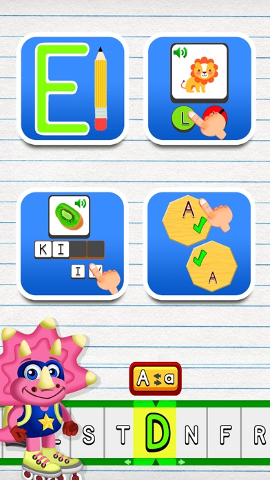 Screenshot #10 for ABC Dinos: Read and write