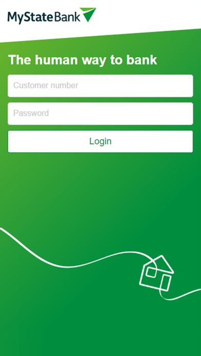 MyState Bank screenshot one