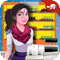 App Icon for Supermarket Chain Cashier Girl App in Egypt IOS App Store