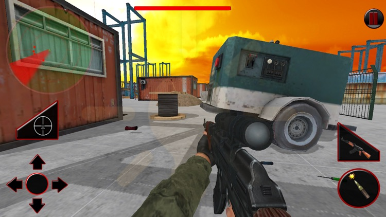 Perfect Commando Shooting 3D screenshot-2