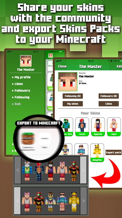 Skins MCPE screenshot-2