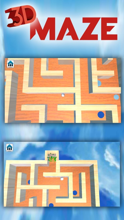 3D Wooden Classic Labyrinth  Maze Games with traps