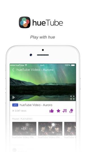 hueTube Screenshot