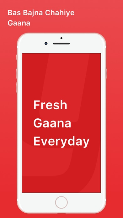 Screenshot for Gaana Music - Songs & Radio in Czech Republic App Store