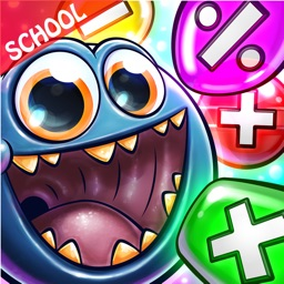 Monster Math Facts Kids Games