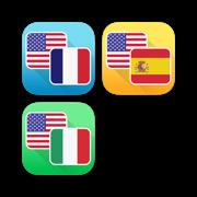 French, Spanish and Italian Language Translator Bundle