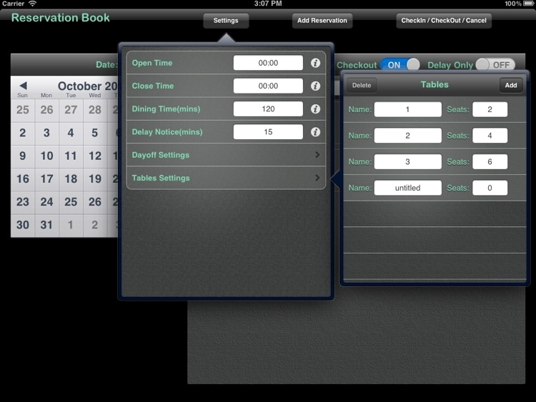 Reservation Book Pro screenshot-4
