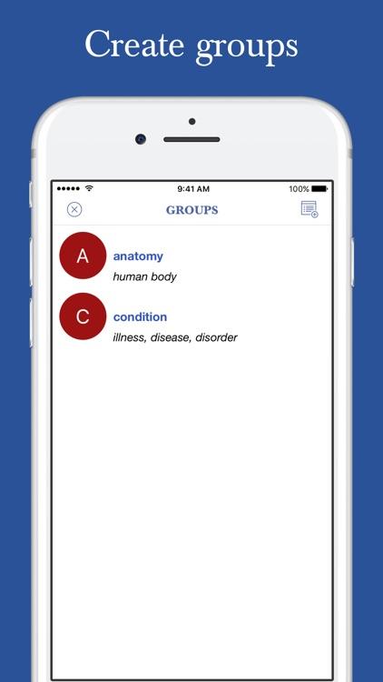 Medical Roots Dictionary screenshot-8