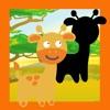 アニメーションサファリ動物は学習する一つのキッド-Sパズルゲームで、鑑賞&ディスカバリー