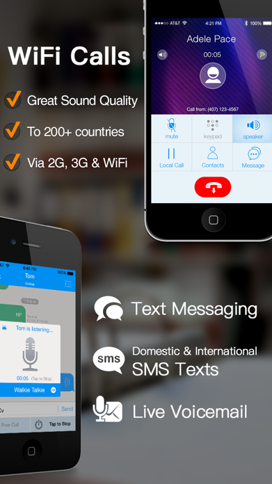 Dingtone - WiFi Calling & Text Screenshot