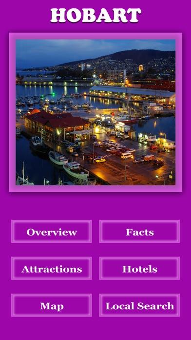 Hobart City Offline Guide screenshot two