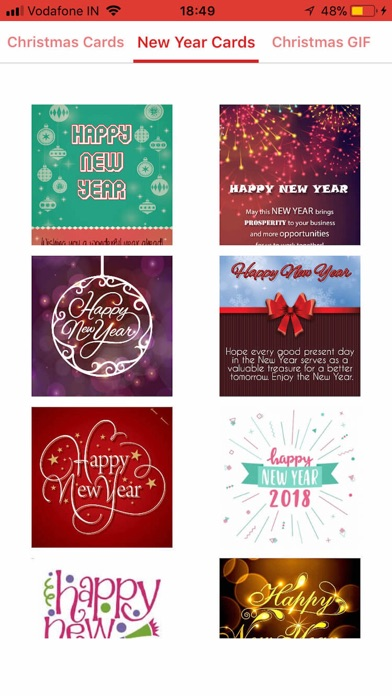 Christmas & NewYear GIF Wishes screenshot two