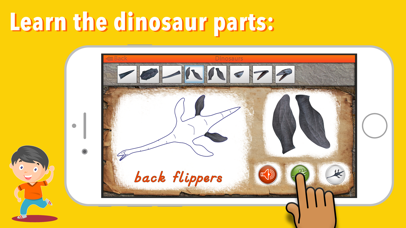 Let's Learn About Dinosaurs! screenshot 3