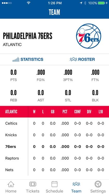 Philadelphia 76ers screenshot-3