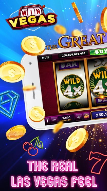 Win Vegas Classic Slots Casino screenshot-0