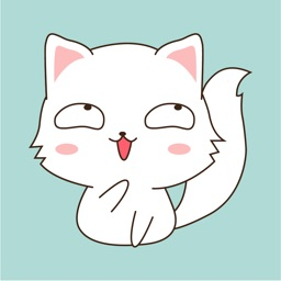 Funny Kitty Animated Stickers
