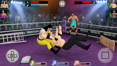 Real Wrestling Revolution 3d screenshot 3