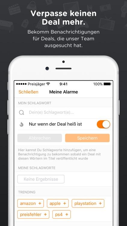 Preisjäger – Gutscheine, Deals screenshot-3