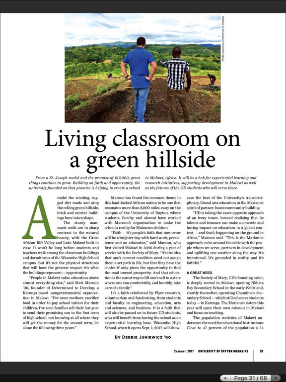 University of Dayton Magazine HDのおすすめ画像4