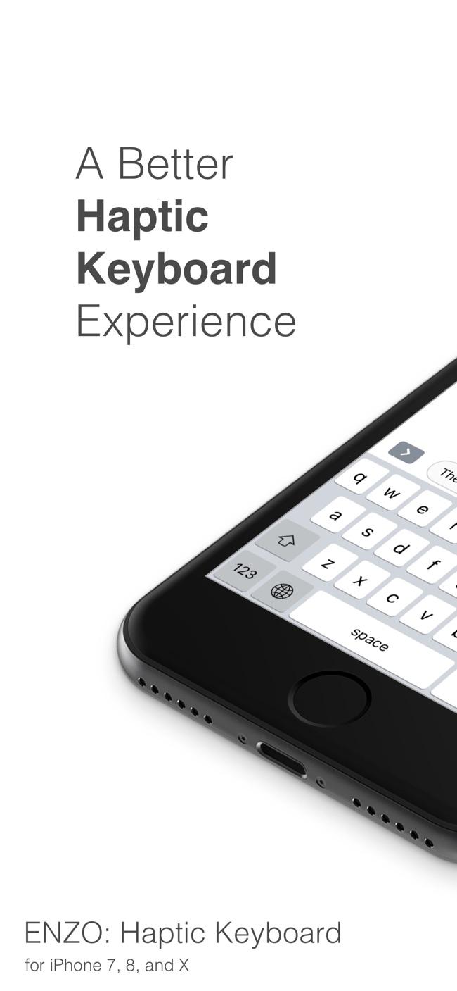 Haptic Keyboard: ENZO Screenshot