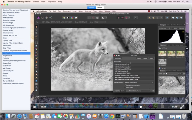 ‎Tutorial for Affinity Photo