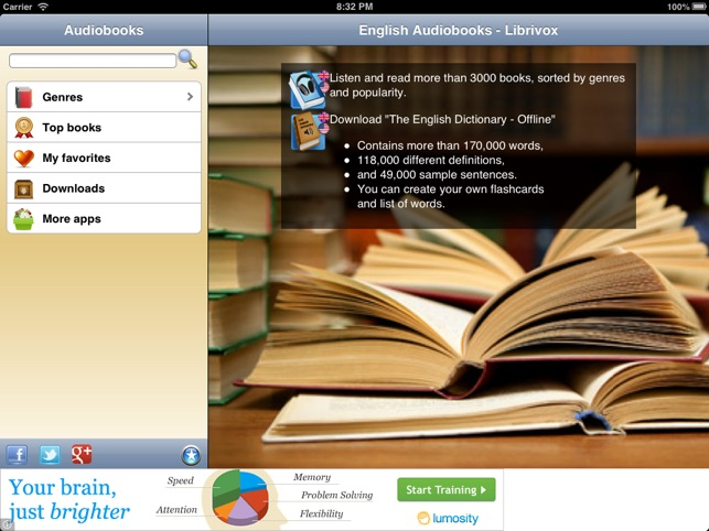 English Audio Books - Librivox on the App Store