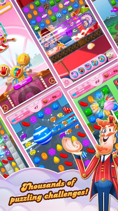 Candy Crush Saga app image