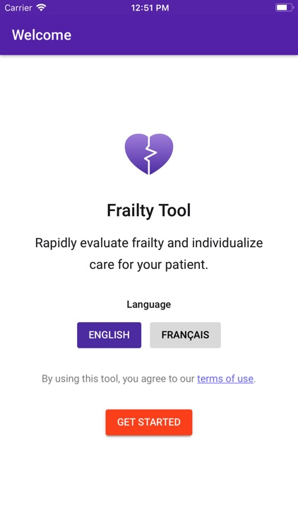 Frailty Tool