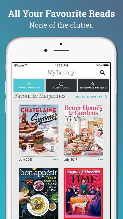 Texture: unlimited digital magazines screenshot-3