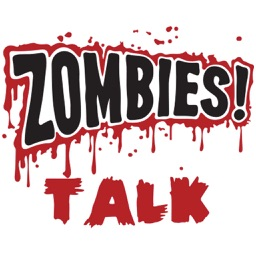 Zombie Talk Sticker Pack