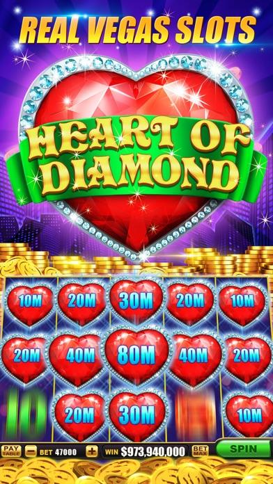 Slots-Heart of Diamonds Casino 1.2.1 IOS