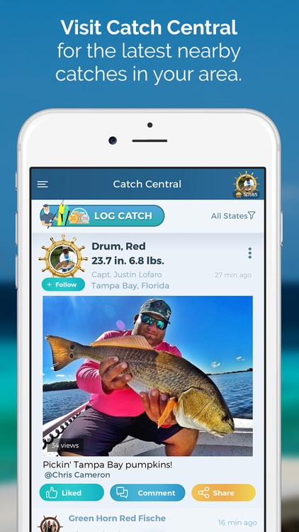 Pro Angler - Fishing Reports screenshot-0