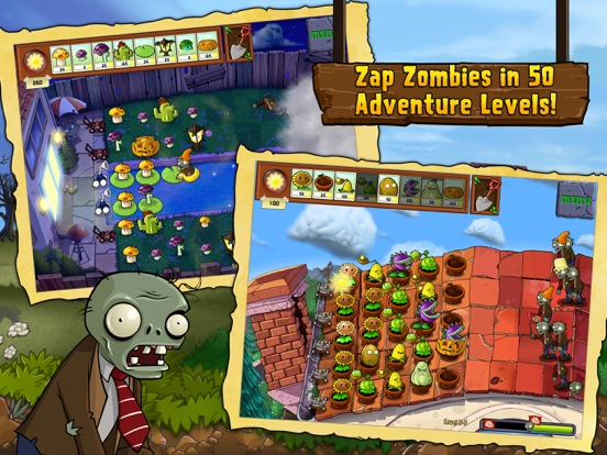 Plants vs. Zombies™ HD для iPad