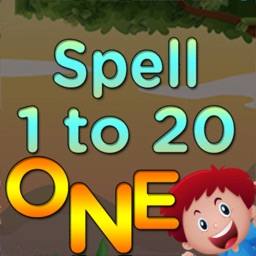 1 to 20 numbers spelling game