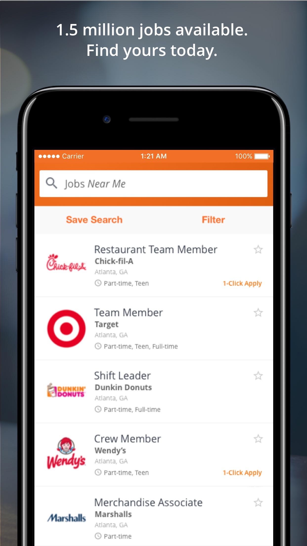 Snagajob - Jobs Hiring Now Screenshot