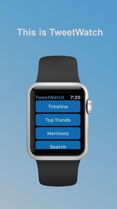 TweetWatch for Twitter app image
