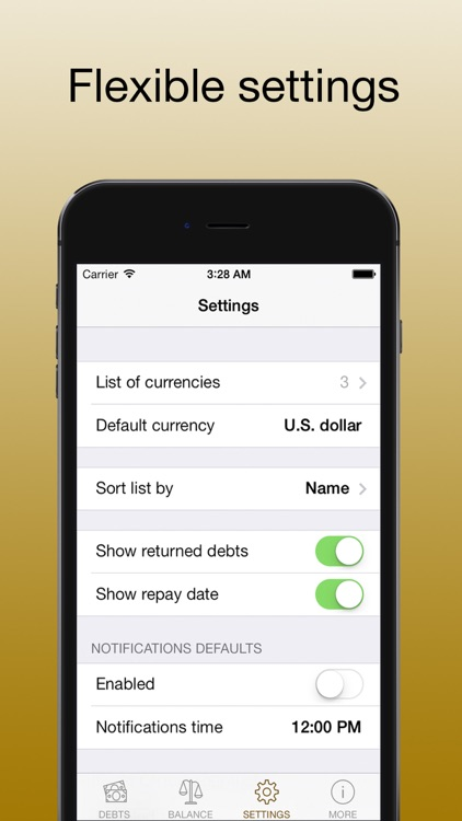 Debts - loans and borrow PRO screenshot-3