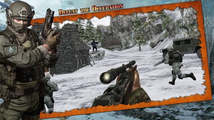 Apes FPS Shooting Game screenshot-3