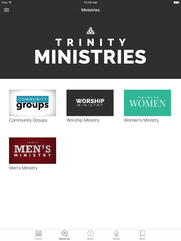 The Trinity Church App screenshot 5