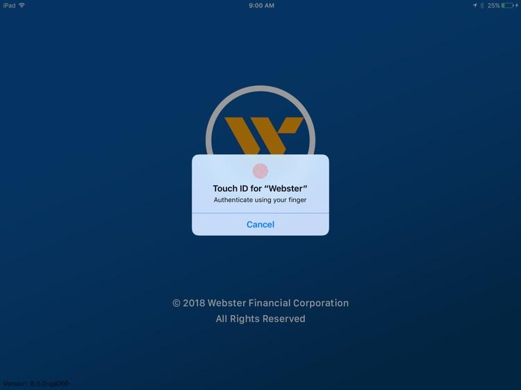 Webster Bank Mobile for iPad screenshot-5
