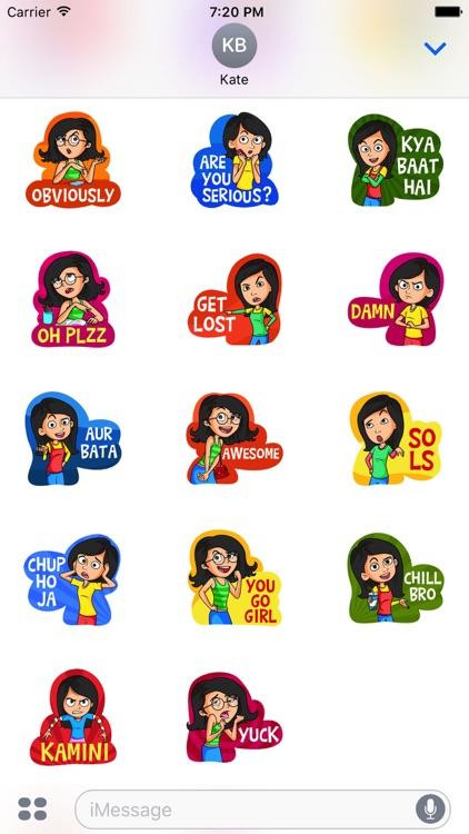 Gossip Girls Stickers screenshot-0