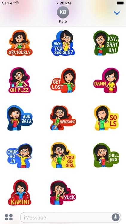 Gossip Girls Stickers