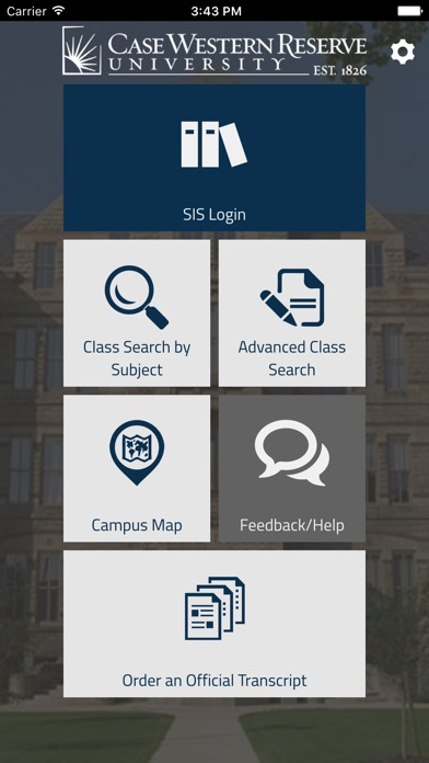 Cwru Sis Mobile By Case Western Reserve University Education