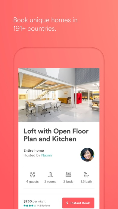 Screenshot 0 for Airbnb's iPhone app'