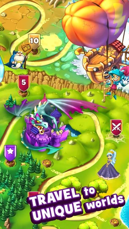 Sir Match-a-Lot - Match 3 Game screenshot-0