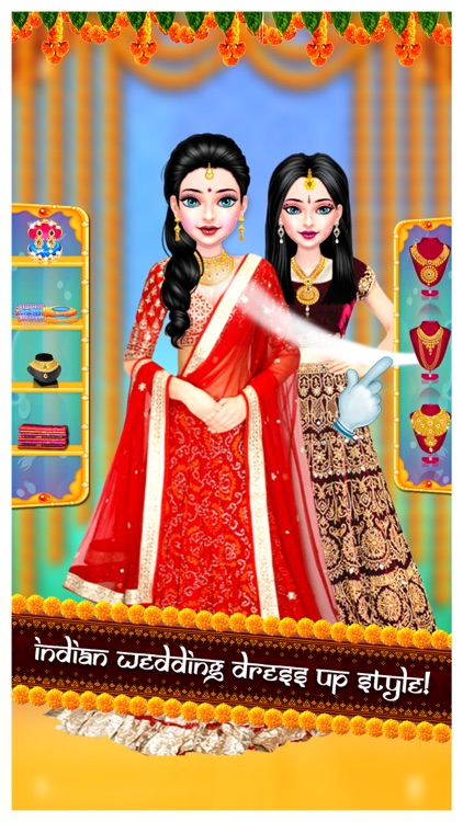 Indian Wedding Salon - Game screenshot-3