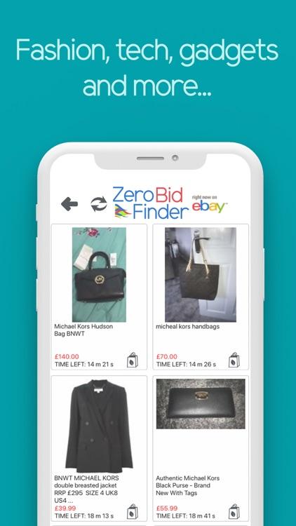 Zero Bid Finder for ebay USA screenshot-8