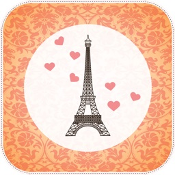 Paris Cam - The Chic arty love Foto Collage Kamera for a beautiful scrapbook selfies pic in France