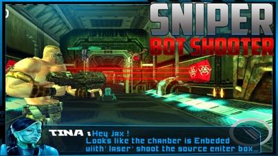 Sniper Bot Gun Shooting screenshot one
